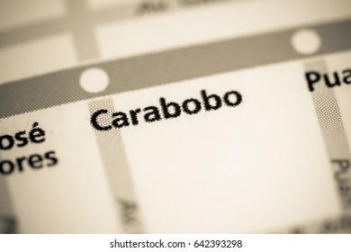 Carabobo Station. Buenos Aires Metro map.