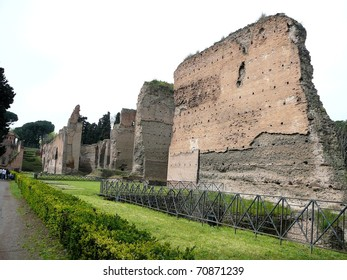 Caracalla Baths in Rome, Italy