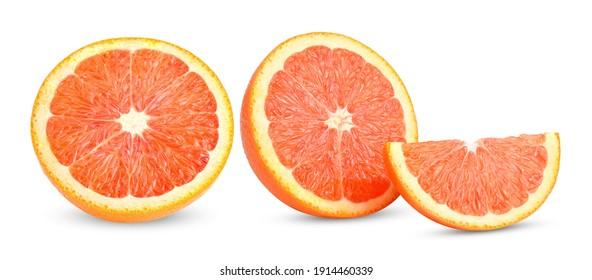 Caracara Orange isolated on white background