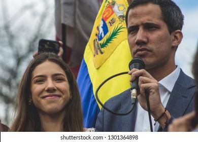 Caracas, Dtto-Capital /Venezuela; 01/26/2019: Interim President of Venezuela - Juan Guaidó