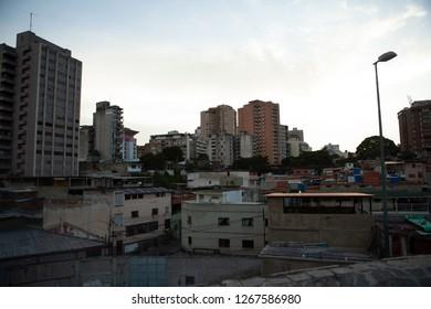 Caracas skyline, venezuela.