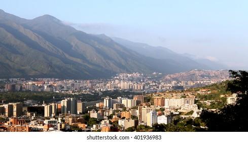 Caracas under Avila