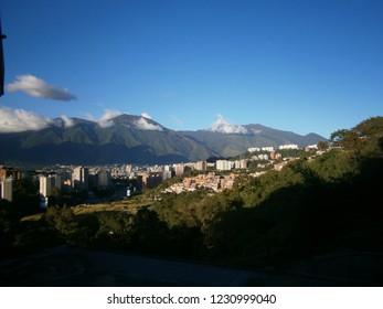 Caracas Venezuela landscape city