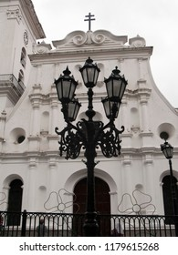 Caracas/Venezuela-February 28, 2016; The mid 16th century building of the Caracas Cathedral chapel of the Holy Trinity one of the oldest buildings in the city