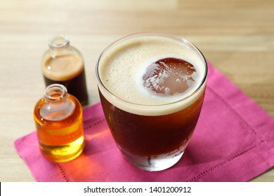 Carajillo Coffee with alcohol drink