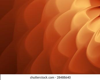 Caramel coffee cream ripple background illustration.