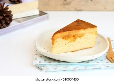 Caramel custard cake, Custard chiffon cake.