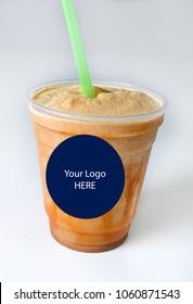 caramel frozen drink
