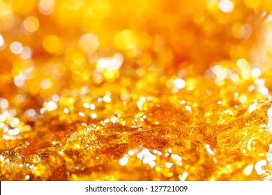 caramel gold glitter background