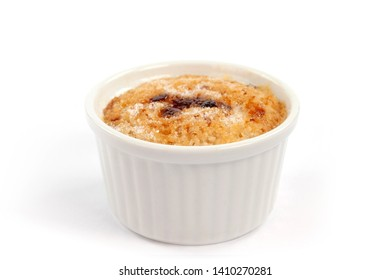 caramel pudding and oven-baked vanilla