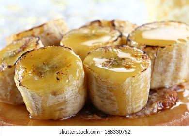 caramelised banana
