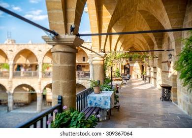 Caravanserai Buyuk Han (the Great Inn) is the largest caravansarai on the island of Cyprus. Nicosia