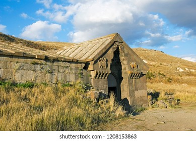 Caravanserai on Selim Pass, Armenia