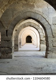 Caravanserai, part of many defensive fortresses on the way of silk in Turkey.