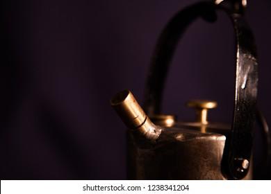 Carbide mining lamp