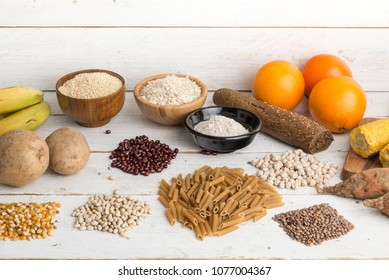 Carbohydrates  concept assortment