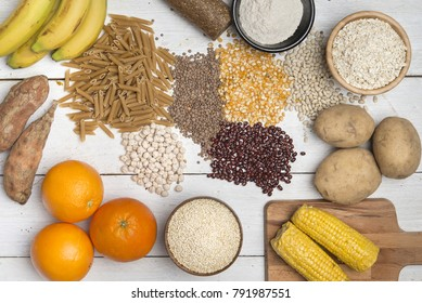 Carbohydrates  different ingredients