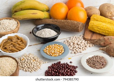 Carbohydrates types ingredients