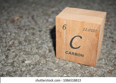 Carbon element with periodic table information to learn Chemistry.  Reduce carbon footprint.  Carbon also know for diamond, graphite, skin care, treatment.  Kids study Chemistry in school! It is fun