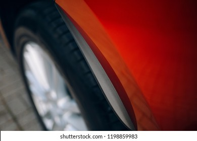 Carbon fender of suv car