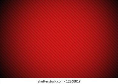 Carbon fiber background red spotlight effect (vignetting added)