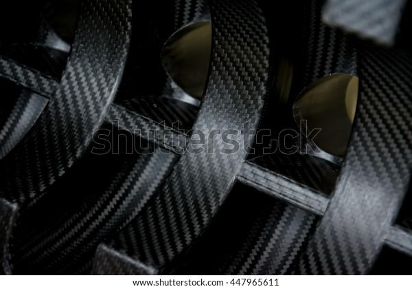 carbon fiber composite product background