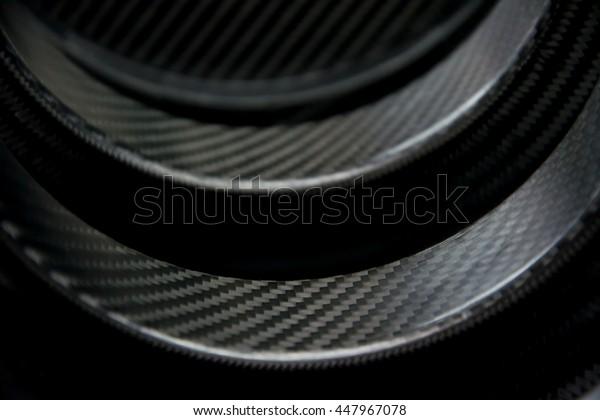 carbon fiber composite product background