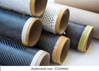 Carbon fiber composite raw material background