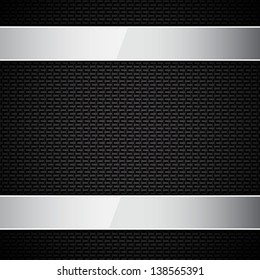Carbon fiber texture. Raster version of the loaded vector