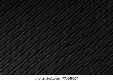 Carbon texture. Background of black synthetic fabric