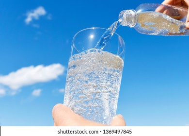 Carbonated mineral water