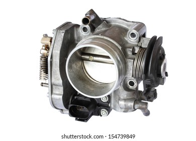 carburetor isolated on white background