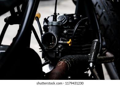Carburetor on Custom bike