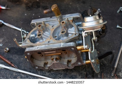 Carburetor parts for fire pump
