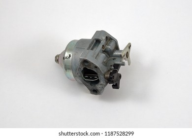 Carburetor used in a small gasoline engine commonly used for lawn equipment, pressure washers etc.