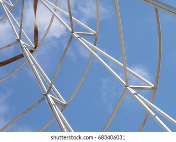 Carcass or part of a metal structure