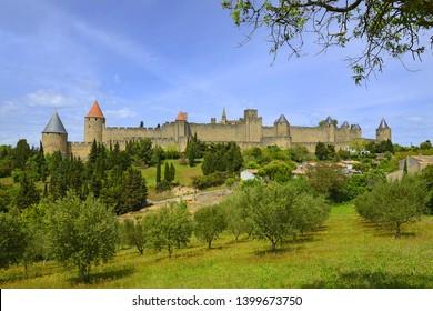 Carcassonne – Cite de Carcassonne, France, UNESCO World Heritage site