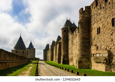 Carcassonne is a fortified medieval citadel located in the French city of Carcassonne.