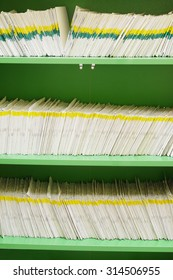 card index in a clinic registry