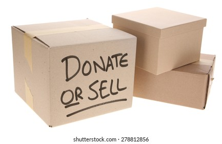 Cardboard Box - Donate or sell