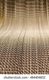 cardboard, corrugated