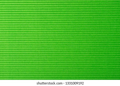 cardboard corrugated pattern background horizontal at light green color