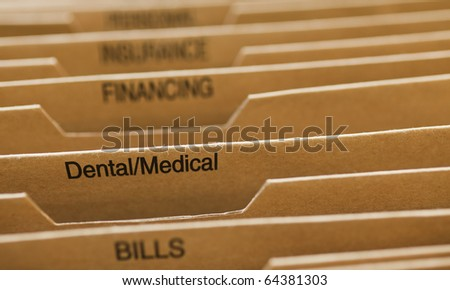 Cardboard filing system dental medical stock photo edit now cardboard filing system dental medical colourmoves