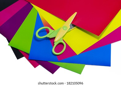 cardboard and scissors for children