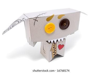 Cardboard zombie