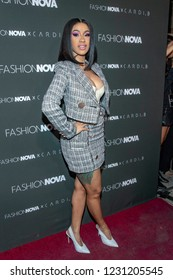 "Cardi B attends ""Fashion Nova X Cardi B Launch Event"", at BOULEVARD 3, Los Angeles, California on November 14th, 2018"