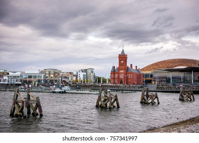 Cardiff Bay is the area of water created by the Cardiff Barrage in south Cardiff, the capital of Wales. It is also the name commonly given to the areas of the city surrounding the Bay