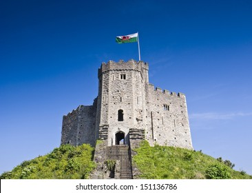 Cardiff Castle situated within beautiful parklands in the heart of the city.