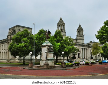 Cardiff Crown Court. Cardiff, Wales