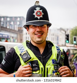 Cardiff, UK. June 2017. Constable, South Wales Police.